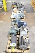 LOT/ (8) PALLETS WITH ELECTRIC MOTORS [RIGGING FEE FOR LOT #504 - $50 USD PLUS APPLICABLE TAXES]