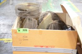 LOT/ SHOP FANS [RIGGING FEE FOR LOT #320 - $25 USD PLUS APPLICABLE TAXES]
