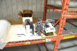 LOT/ (2) GRACO PNEUMATIC DIAPHRAGM PUMPS AND STENNER PERISTALTIC METERING PUMP (NEW IN BOX) [RIGGING