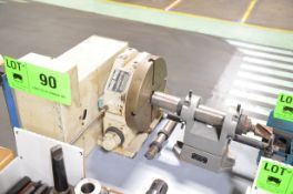 CINCINNATI MILACRON DL-9-D 4TH AXIS ROTARY TABLE WITH TAILSTOCK (NO DRIVE MOTOR), S/N 5044-10 [