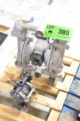LOT/ (2) PNEUMATIC DIAPHRAGM PUMPS [RIGGING FEE FOR LOT #385 - $25 USD PLUS APPLICABLE TAXES]