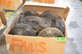 LOT/ SHOP FANS [RIGGING FEE FOR LOT #327 - $25 USD PLUS APPLICABLE TAXES]