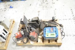 LOT/ DIGITAL METERING PUMPS AND RELIANCE VFD DRIVE [RIGGING FEE FOR LOT #380 - $25 USD PLUS