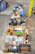 LOT/ (6) PALLETS WITH ELECTRIC MOTORS [RIGGING FEE FOR LOT #505 - $50 USD PLUS APPLICABLE TAXES]