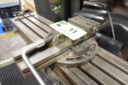 """GS 6"""" MACHINE VISE WITH CUSTOM SWIVEL BASE, S/N N/A [RIGGING FEE FOR LOT #11 - $25 USD PLUS"""