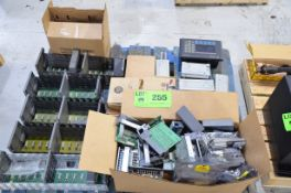 LOT/ ALLEN BRADLEY PLC CONTROL COMPONENTS AND STENNER 45M2 PERISTALTIC METERING PUMP [RIGGING FEE