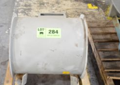 IRUN ROSS AXIAL FAN WITH ELECTRIC MOTOR, S/N N/A [RIGGING FEE FOR LOT #284 - $25 USD PLUS APPLICABLE