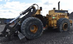 CATERPILLAR 950F ARTICULATING FRONT END WHEEL LOADER WITH 3116 6 CYLINDER DIESEL ENGINE, FULLY