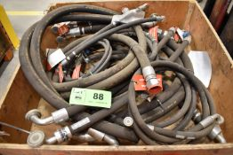 LOT/ CRATE OF CATERPILLAR XT-3ES & 844-20 HYDRAULIC LINES (CMD WAREHOUSE - 10040401)