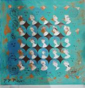 """After Patrick Proctor (1936-2003) Limited edition lithograph """"Jubilee 1977"""", The Queens Silver"""