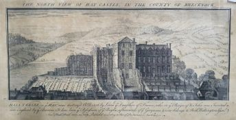 """Samuel and Nathaniel Buck (18th century) Engraving """"The North View of Haycastle in the Country of"""
