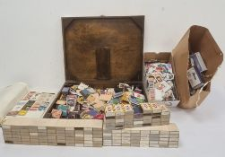 Quantity of matchboxes, collection of matchbox coversand sundry stamps