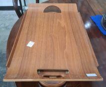 20th century plywood breakfast tray