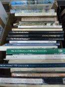 Quantity of books relating to Art - Observer Books, topography and other vols ( 5 boxes)