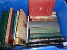 PLEASE NOTE AMENDED CATALOGUE DESCRIPTION AND IMAGES Assorted volumes, again to include books on
