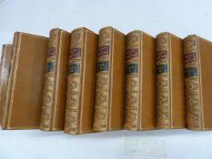 "Fine bindings: Wheatley, Henry B (ed) ""The Diary of Samuel Pepys ..."", G Bell & Sons 1916, 8"