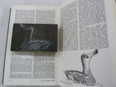 'Severn Wildfowl Trust Report' nos. 1 - 18, edited by Hugh Boyd, illustrated by Peter Scott and a