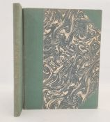 Bound copies of 'La Pendule Francaise' Tardy, Paris, rebound, marbled boards, quarter green cloth,
