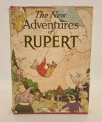 """""""The New Adventures of Rupert"""", Daily Express Publications, some slight staining and foxing,"""