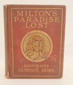 "Dore, Gustav ( ills.) ""Milton's Paradise Lost"", Cassell & Company, numerous plates, yellow ep, dark"