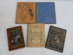"""Crane, Walter """"The Bluebeard Picture Book ..."""", George Routledge & Sons (nd), colour plates"""