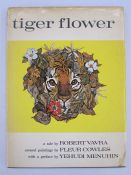 """Cowles, Fleur (ills) and Vavra, Robert """"Tiger Flower"""", Collins 1968, full page and other colour ills"""
