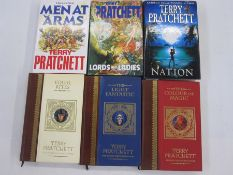 "Pratchett, Terry ""Lords and Ladies"", London, Gollancz 1992, blue cloth, gilt titles, dj not price"