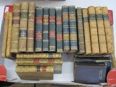 Fine bindingsto include:French titles, religious titles and history (1 box)