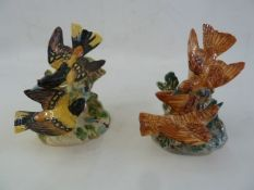 Beswick bird model group 925, two others 926 in different colourways and Beswick model bird of