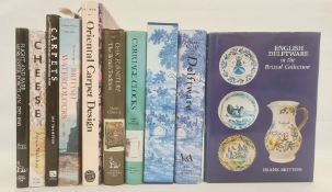 """Archer, Michael """"Delftware"""", publ by The V&A, in original slipcase Allix, Charles """"Carriage"""
