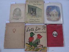 "Stokes, Vernon and Harnett, Cynthia ""Junk, The Puppy"", Blackie & Son, n.d., ills, folio,"
