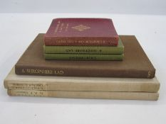 """Housman, A E """"A Shropshire Lad"""", 325 copies of this edition, 300 for sale, printed at The Alcuin"""