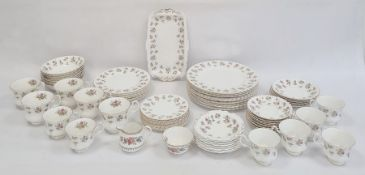 Royal Albert 'Winsome' pattern part dinner and tea service and a few pieces of Royal Grafton '