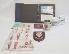 Royal Air Force memorabilia to include Royal Air Force Museum binder filled with first day covers,