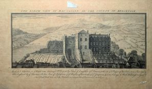 """Samuel and Nathaniel Buck (18th century) Engravings """"The North View of Haycastle in the Country of"""