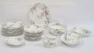 Booths 'Chinese Tree' pattern part dinner service, no.A8001 to base