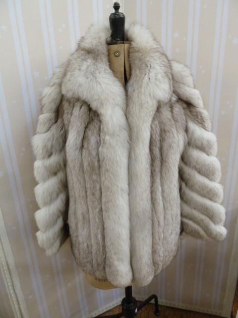 Saga fox fur jacket, 1980's