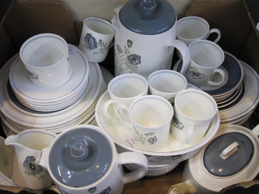 Wedgwood 'Susie Cooper' design 'Glenmist' pattern part coffee and dinner service comprising coffee