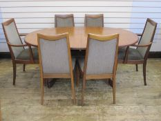 G-Plan Fresco dining suite to include sideboard (211cm wide), dining table (160cm unextended) and