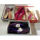 Quantity of designer shoesin original boxes, all 38 and 38 and half, to include Martini Osvaldo,