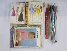 Collection of vintage dress patterns to include Style, McCalls, Le Roy, Milwards, Vogue, Simplicity,