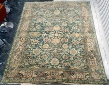Modern all over florally decorated rug 297 x 256 cm