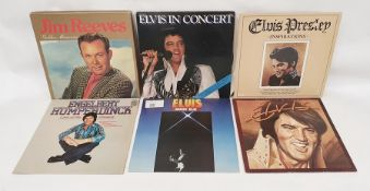 Assorted Elvis LPsto include 'You'll Never Walk Alone', 'Elvis' Christmas Album', 'Hits of the 70'