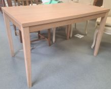 Laminate kitchen table, 75cm long