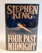 King, Stephen 'Four Past Midnight', Viking 1990, signed by the author on the half title, black