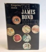 Amis, Kingsley 'The James Bond Dossier' Jonathan Cape 1965, author's signature on label, paste on