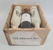 Six bottles of 1997 Grand Vin de Chateaux Latour Premier Grand Cru Classe Pauilliacin original