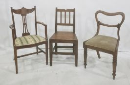 Three assorted chairs(3)