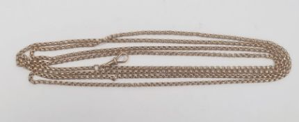 9ct gold guard chain with belcher linkCondition ReportMarked 9ct to clasp, unmarked to chain