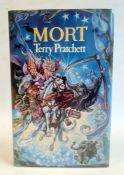 Pratchett, Terry ' Mort' Victor Gollancz Limited in association with Colin Smythe Limited, 1987,